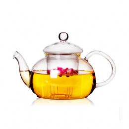 800ml Heat-resistant Borosilicate glass tea pot