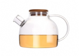 Pyrex glass tea-coffee pot